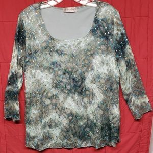 Womens sequined top- 2 for $15.